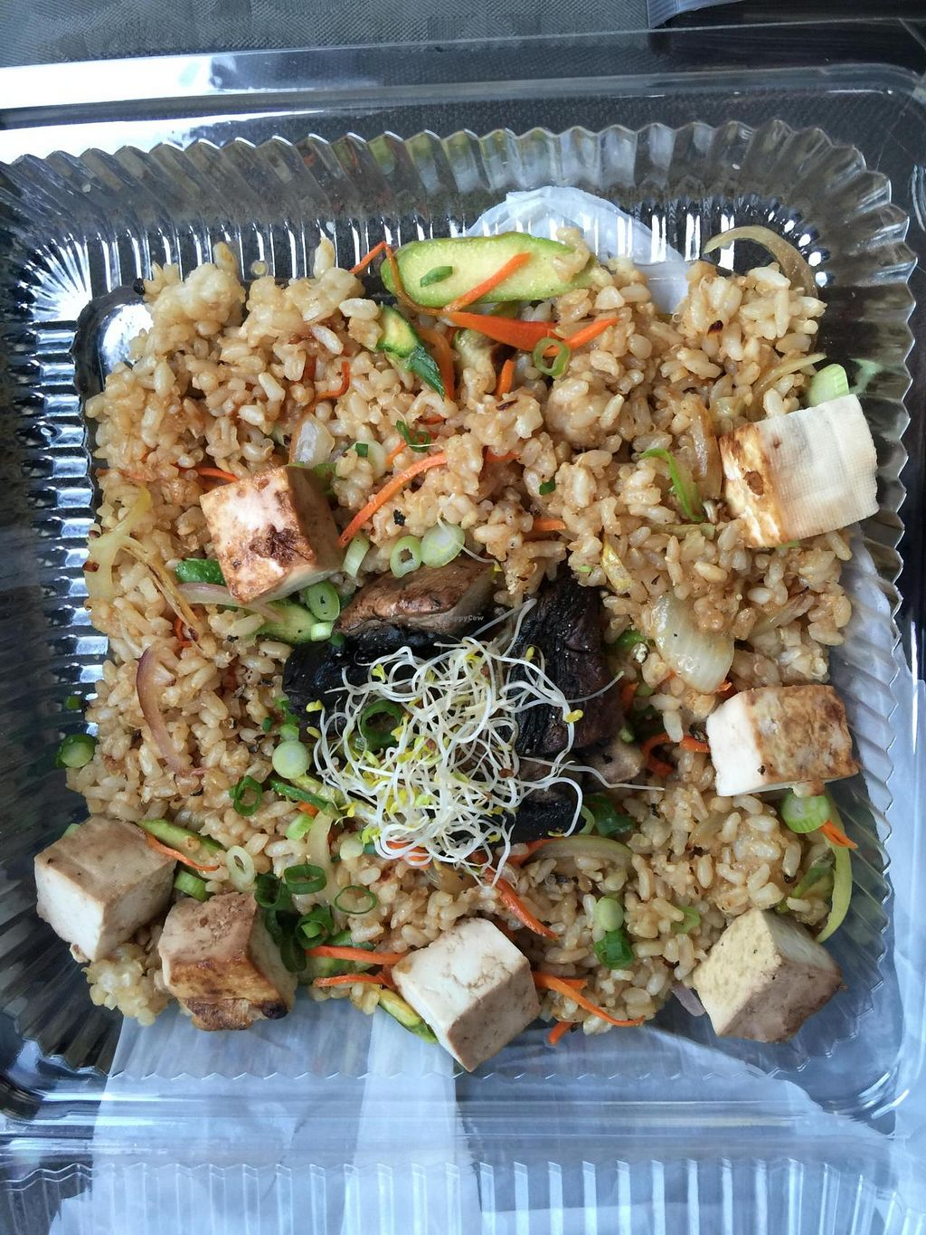 """Photo of CLOSED: The Urban Fork  by <a href=""""/members/profile/JoannaBanana47"""">JoannaBanana47</a> <br/>Tofu & quinoa <br/> July 19, 2015  - <a href='/contact/abuse/image/60712/109952'>Report</a>"""