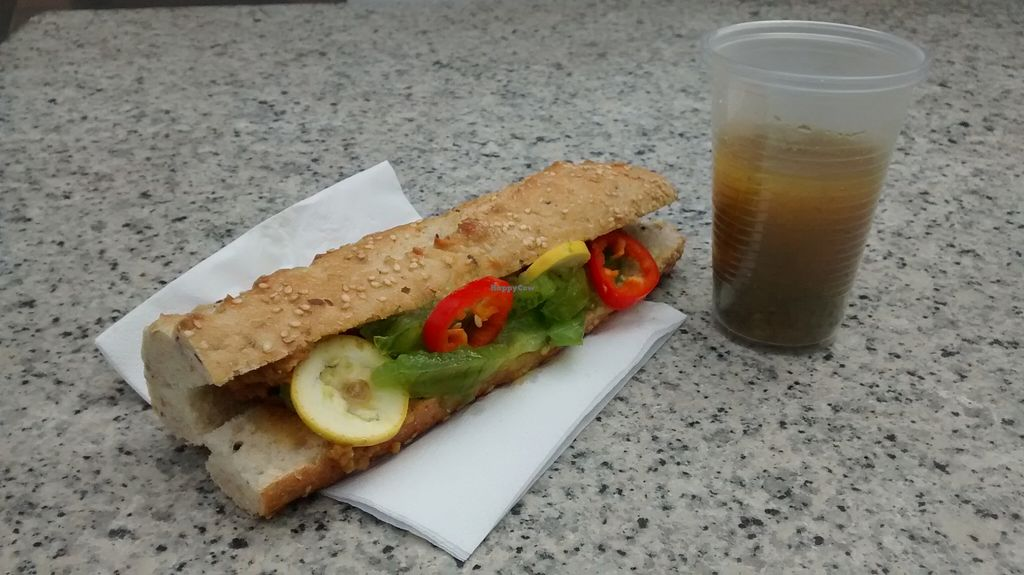 """Photo of CLOSED: Snack Vegan  by <a href=""""/members/profile/JonJon"""">JonJon</a> <br/>Vegetable sandwich and soup <br/> September 23, 2015  - <a href='/contact/abuse/image/60719/118817'>Report</a>"""