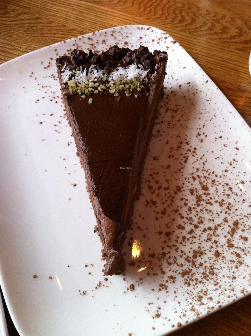 "Photo of Zend Conscious Lounge  by <a href=""/members/profile/vegan%20frog"">vegan frog</a> <br/>Chocolate torte <br/> August 22, 2015  - <a href='/contact/abuse/image/60722/114754'>Report</a>"