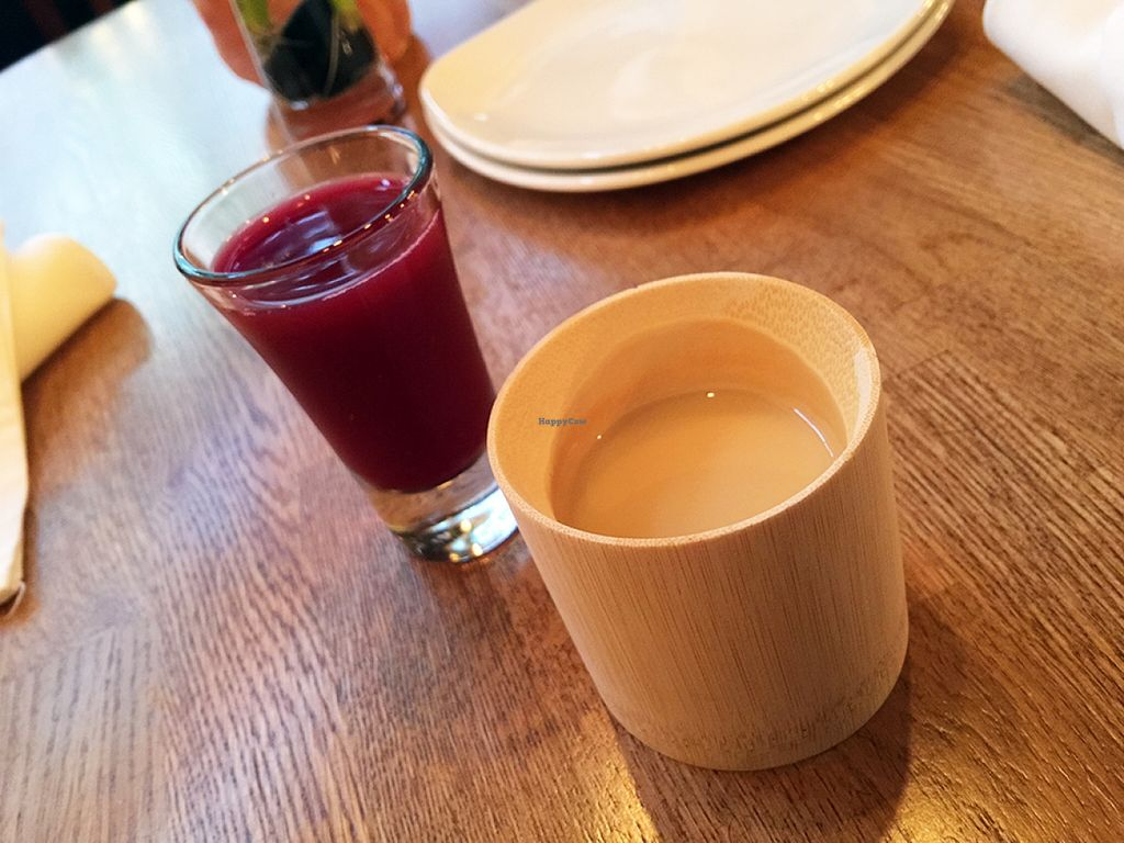 "Photo of Zend Conscious Lounge  by <a href=""/members/profile/Wheat-free%20Vegan"">Wheat-free Vegan</a> <br/>The Zend house drink with a chaser of cranberry juice. A alcohol free way to take the edge off the day <br/> September 26, 2015  - <a href='/contact/abuse/image/60722/119208'>Report</a>"