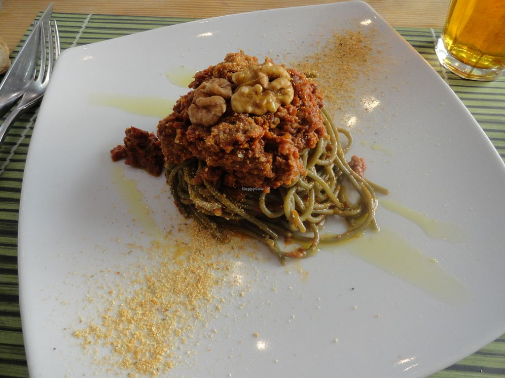 "Photo of Cavoli Nostri  by <a href=""/members/profile/Usagi.Chan"">Usagi.Chan</a> <br/>Nori spaghetti with red pesto <br/> July 9, 2016  - <a href='/contact/abuse/image/60728/158624'>Report</a>"