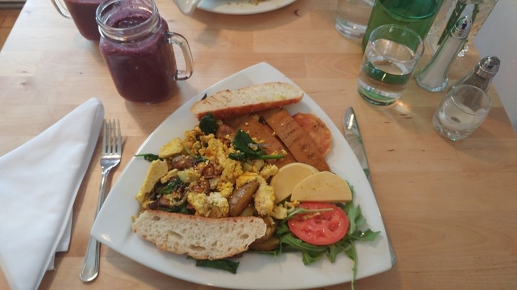 """Photo of Le Soixante 5  by <a href=""""/members/profile/Becca6955"""">Becca6955</a> <br/>Has good brunches and smoothies. Will definitely come back again!  <br/> February 25, 2018  - <a href='/contact/abuse/image/60739/363797'>Report</a>"""