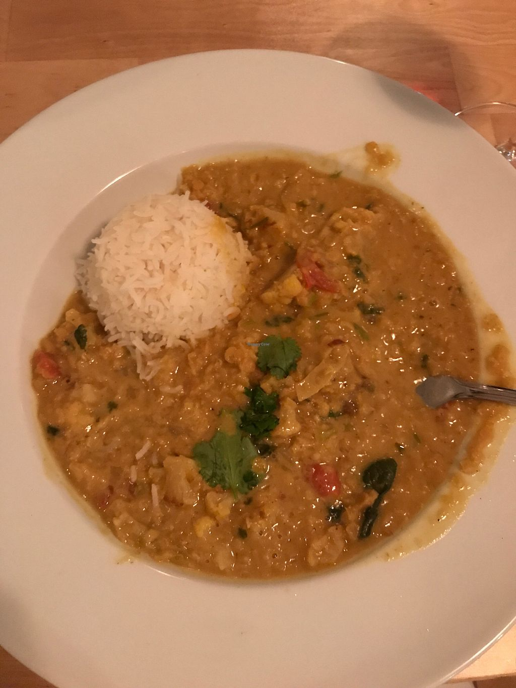 """Photo of Le Soixante 5  by <a href=""""/members/profile/EmilieP%C3%A9loquin"""">EmiliePéloquin</a> <br/>Lentils curry <br/> March 1, 2018  - <a href='/contact/abuse/image/60739/365185'>Report</a>"""