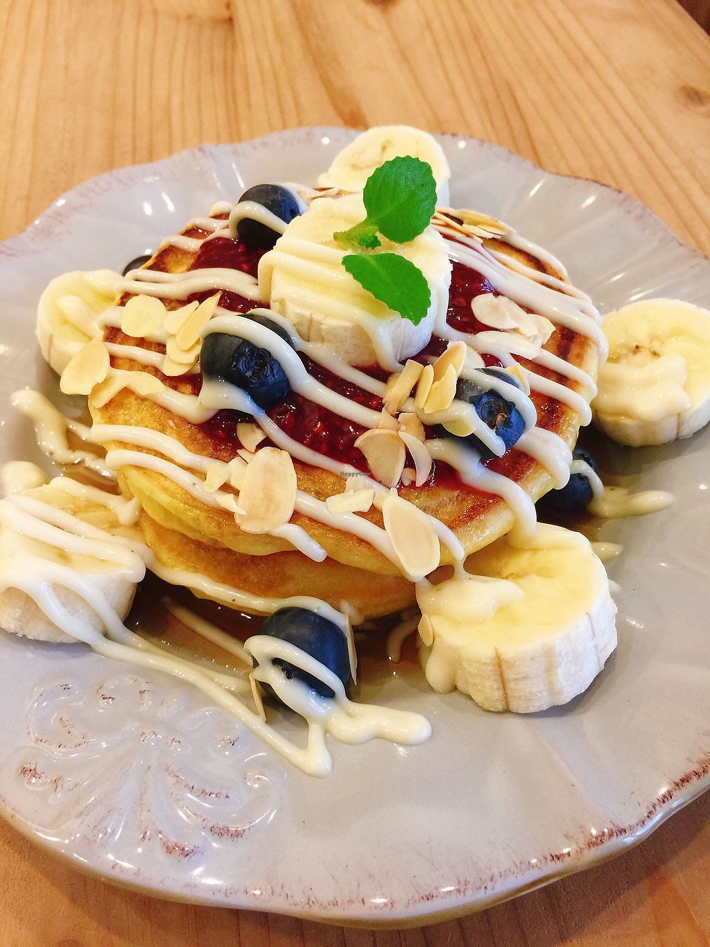 """Photo of Green Bakery  by <a href=""""/members/profile/IsabellaVTsao"""">IsabellaVTsao</a> <br/>Vegan pancake  <br/> July 11, 2017  - <a href='/contact/abuse/image/60768/279163'>Report</a>"""