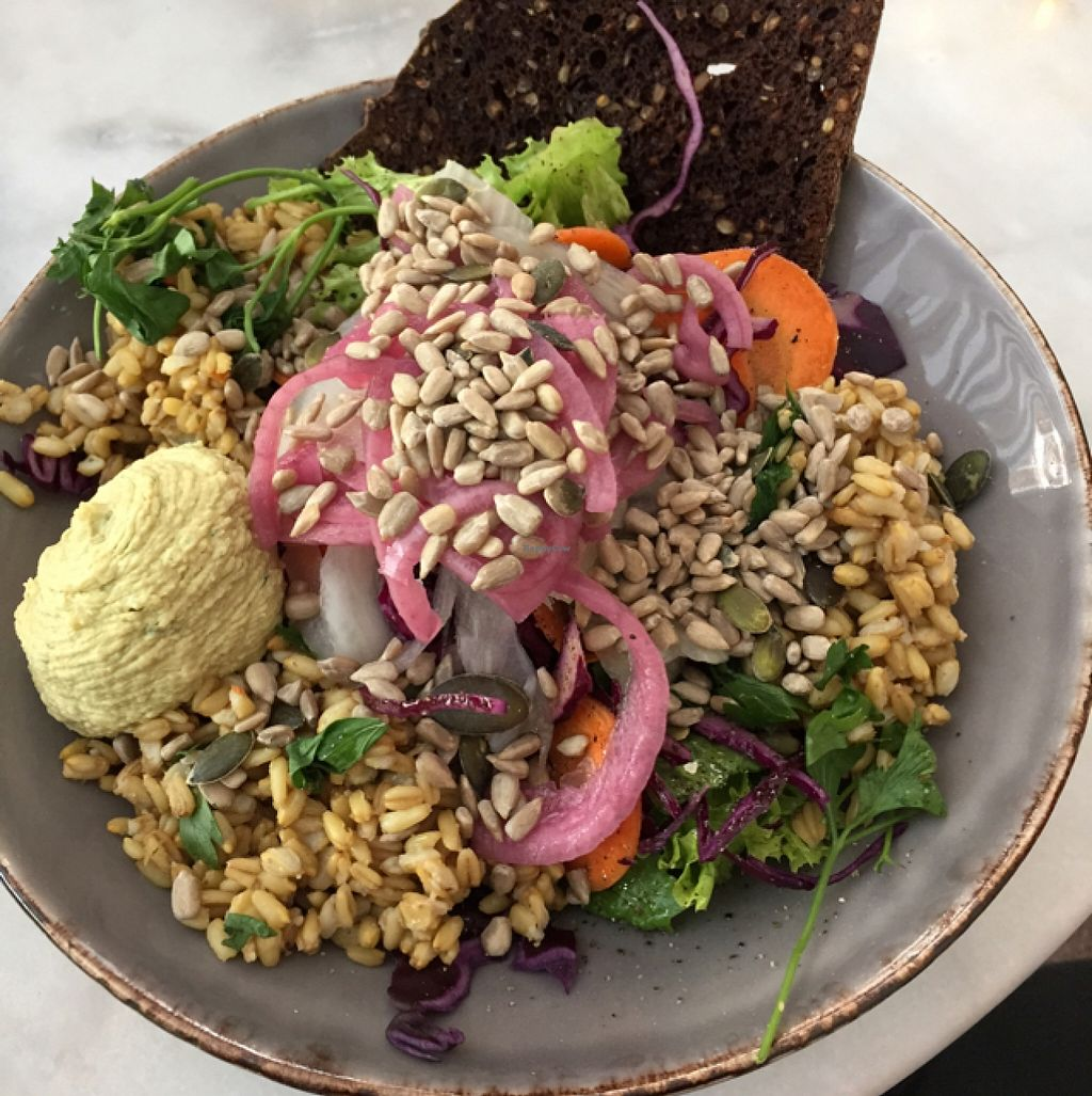 """Photo of Atrium  by <a href=""""/members/profile/Marie88"""">Marie88</a> <br/>vegan salad <br/> September 23, 2015  - <a href='/contact/abuse/image/60771/118767'>Report</a>"""
