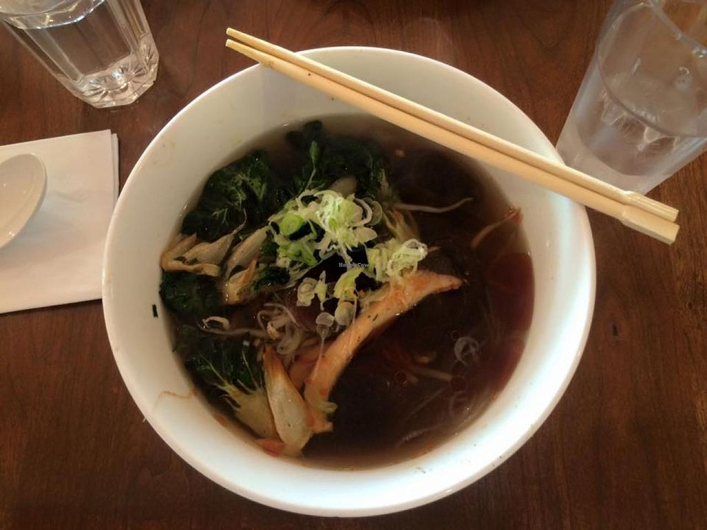 "Photo of Tosh's Ramen  by <a href=""/members/profile/Meggie%20and%20Ben"">Meggie and Ben</a> <br/>Shiitake and tofu ramen (vegan) <br/> July 18, 2015  - <a href='/contact/abuse/image/60775/109832'>Report</a>"