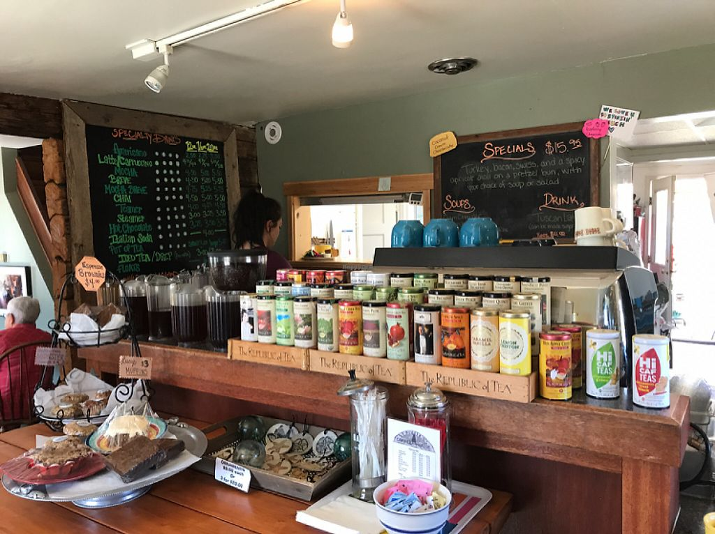 """Photo of Veronica's Coffee House  by <a href=""""/members/profile/Sarah%20P"""">Sarah P</a> <br/>cafe counter <br/> May 14, 2017  - <a href='/contact/abuse/image/60785/258558'>Report</a>"""