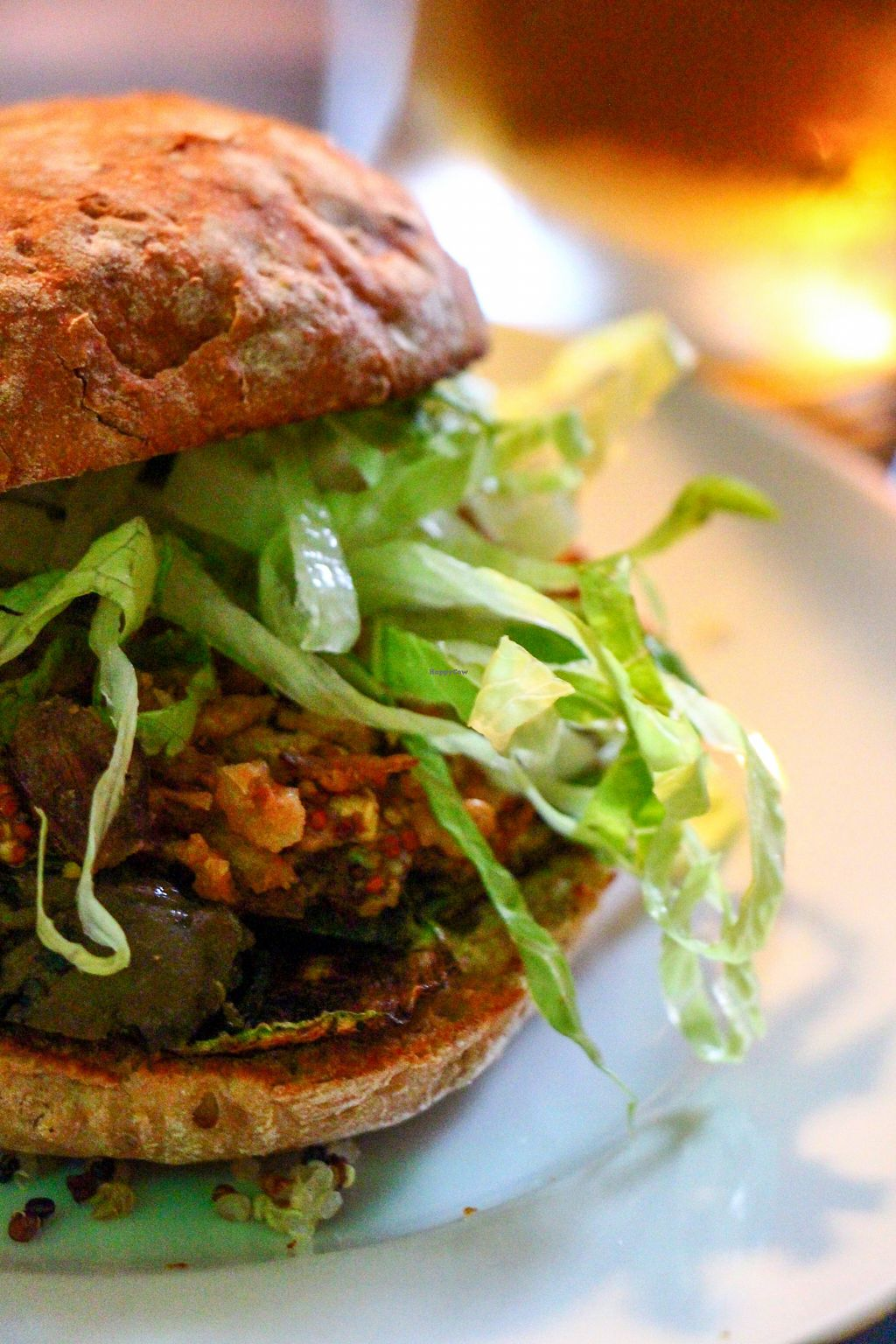 "Photo of The V Factor  by <a href=""/members/profile/Jack%20Karswell"">Jack Karswell</a> <br/>Tasty vegan homemade burger <br/> August 13, 2015  - <a href='/contact/abuse/image/60790/113427'>Report</a>"