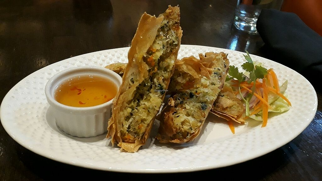 "Photo of Herban Fix Vegan Kitchen  by <a href=""/members/profile/mtravel"">mtravel</a> <br/>Spring Rolls <br/> September 15, 2017  - <a href='/contact/abuse/image/60802/304742'>Report</a>"