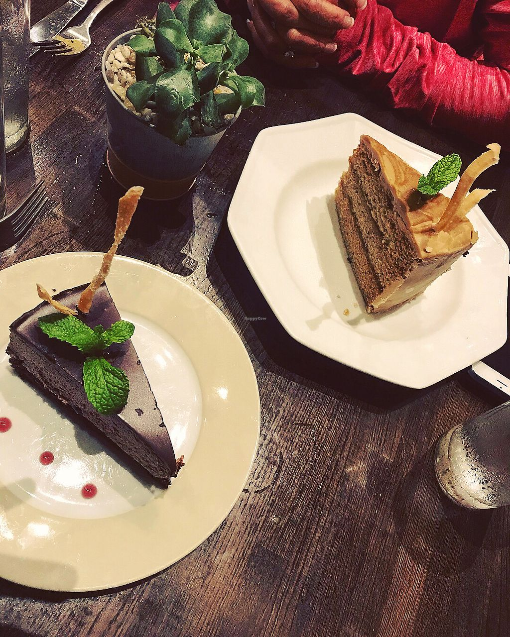 "Photo of Herban Fix Vegan Kitchen  by <a href=""/members/profile/ToriEdwards"">ToriEdwards</a> <br/>Chocolate mousse with Raspberry and Caramel Cake   <br/> November 8, 2017  - <a href='/contact/abuse/image/60802/323183'>Report</a>"