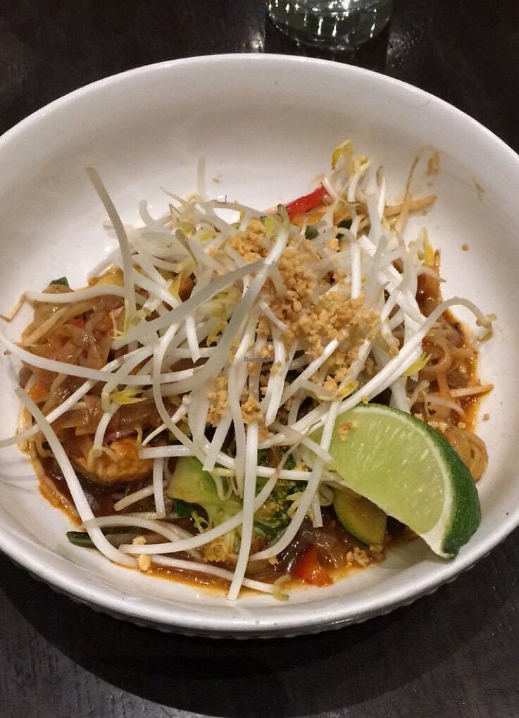 "Photo of Herban Fix Vegan Kitchen  by <a href=""/members/profile/KellyMcDonald"">KellyMcDonald</a> <br/>Vegan Gluten Free Pad Thai  <br/> December 7, 2017  - <a href='/contact/abuse/image/60802/333179'>Report</a>"