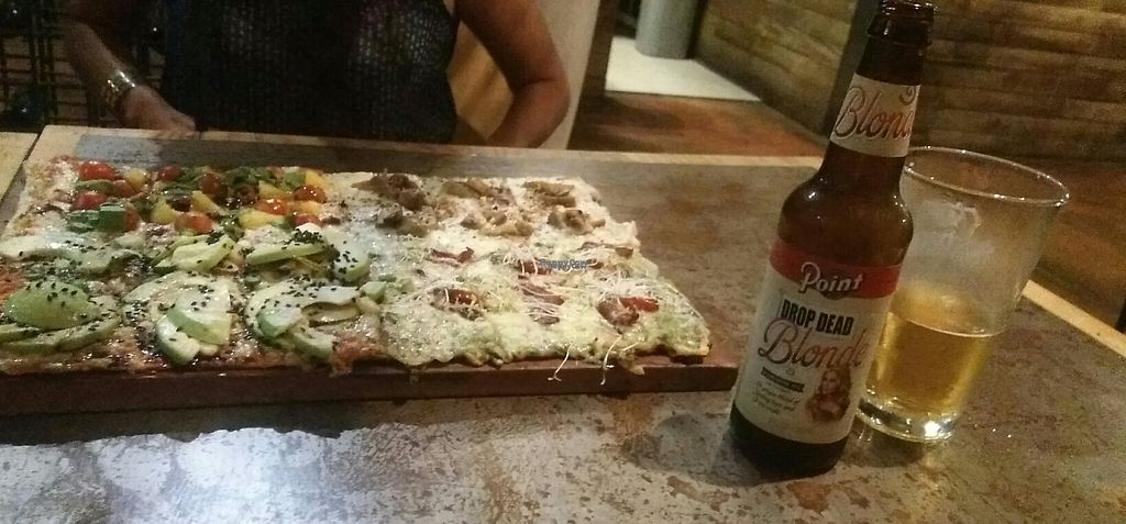 """Photo of Veggie Pizza - Miraflores  by <a href=""""/members/profile/alessa182"""">alessa182</a> <br/>Four pizzas in one! <br/> April 21, 2017  - <a href='/contact/abuse/image/60855/250673'>Report</a>"""