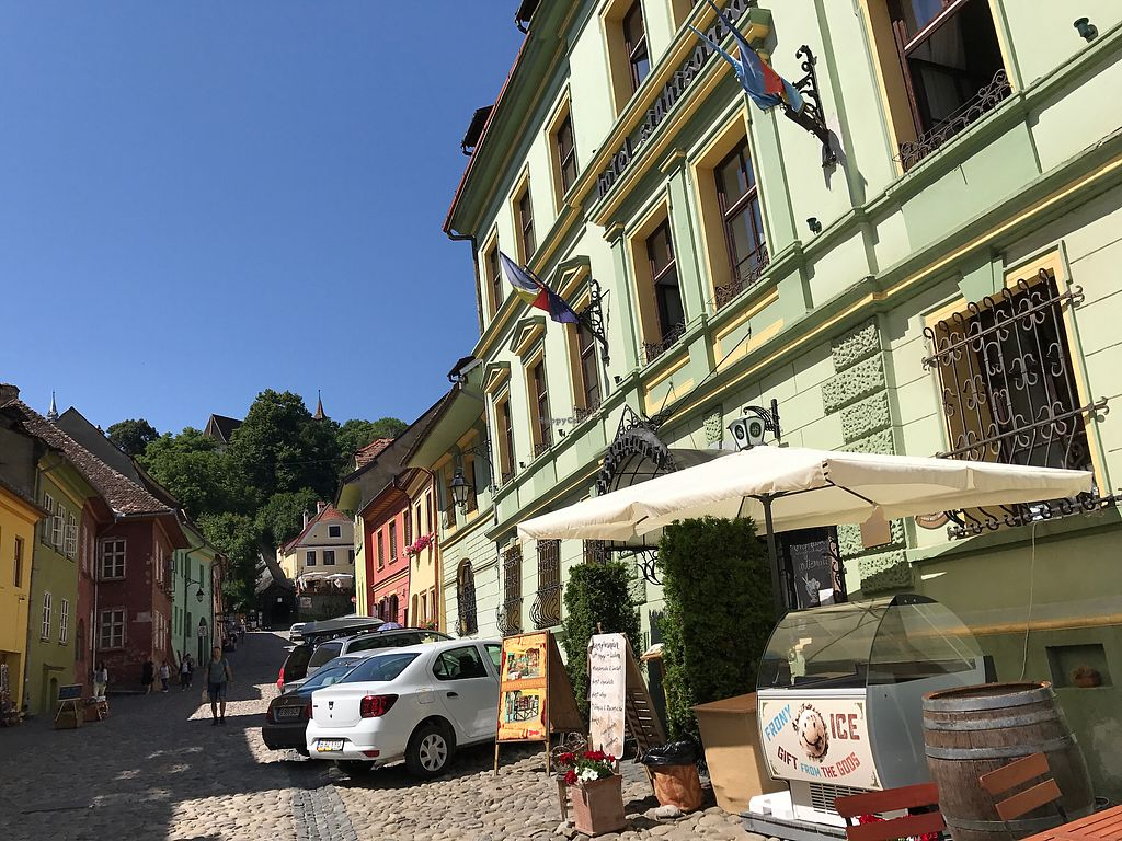 """Photo of Hotel Sighisoara  by <a href=""""/members/profile/marky_mark"""">marky_mark</a> <br/>front view <br/> June 20, 2017  - <a href='/contact/abuse/image/60864/271338'>Report</a>"""