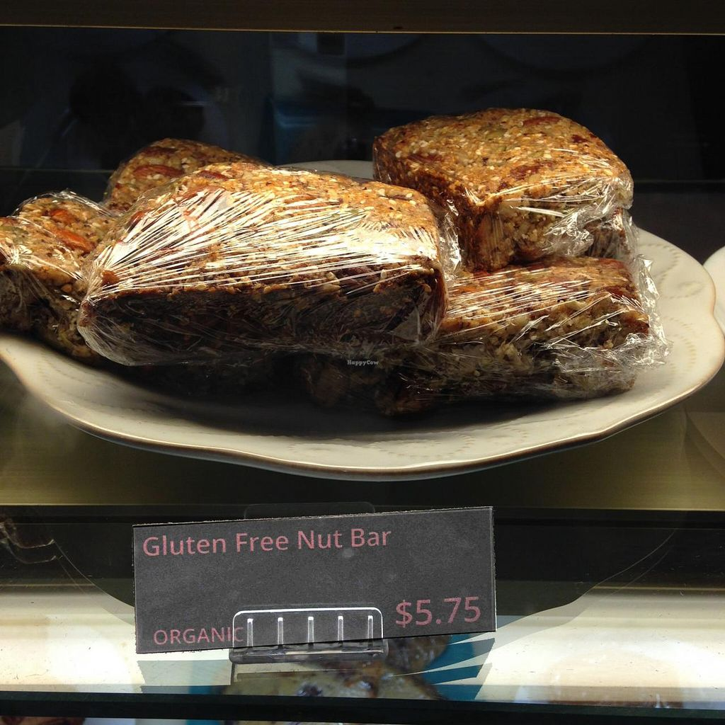 "Photo of CLOSED: Heaven on Earth Cafe  by <a href=""/members/profile/drschoen"">drschoen</a> <br/>Gluten-free nut bar <br/> July 25, 2015  - <a href='/contact/abuse/image/60870/110897'>Report</a>"