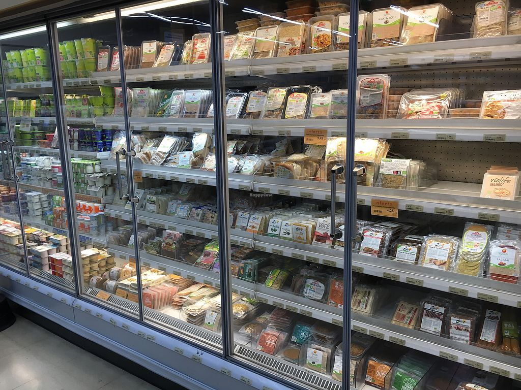 """Photo of Veritas - Via Laietana  by <a href=""""/members/profile/hack_man"""">hack_man</a> <br/>Inside vegan cheeses and deli  <br/> October 21, 2017  - <a href='/contact/abuse/image/6087/317303'>Report</a>"""