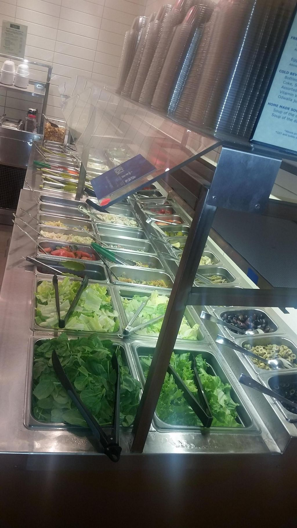 "Photo of CLOSED: Insalata  by <a href=""/members/profile/kenvegan"">kenvegan</a> <br/>the salad bar <br/> July 21, 2015  - <a href='/contact/abuse/image/60884/110317'>Report</a>"