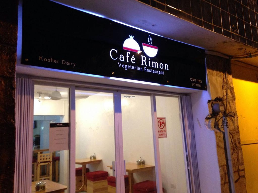 "Photo of Cafe Rimon  by <a href=""/members/profile/DynaMo"">DynaMo</a> <br/>sign as seen from the street  <br/> July 21, 2015  - <a href='/contact/abuse/image/60885/110371'>Report</a>"