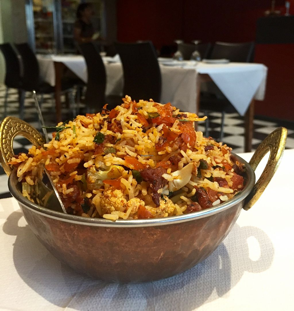 "Photo of Tandoori Temptations  by <a href=""/members/profile/karlaess"">karlaess</a> <br/>Vegetable Biryani <br/> February 9, 2016  - <a href='/contact/abuse/image/60887/135629'>Report</a>"