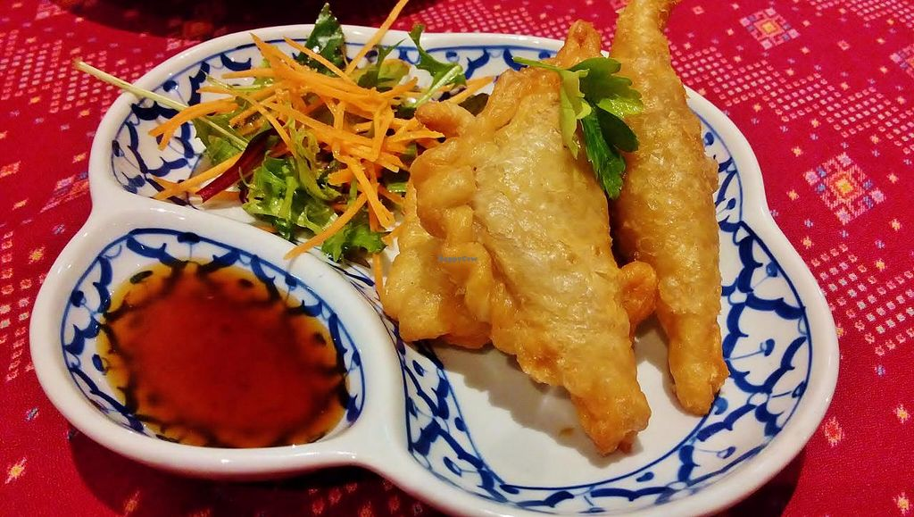 """Photo of Vanilla Orchid  by <a href=""""/members/profile/verbosity"""">verbosity</a> <br/>Curry Puffs with Yellow Plum Dipping Sauce <br/> July 24, 2015  - <a href='/contact/abuse/image/60889/110801'>Report</a>"""