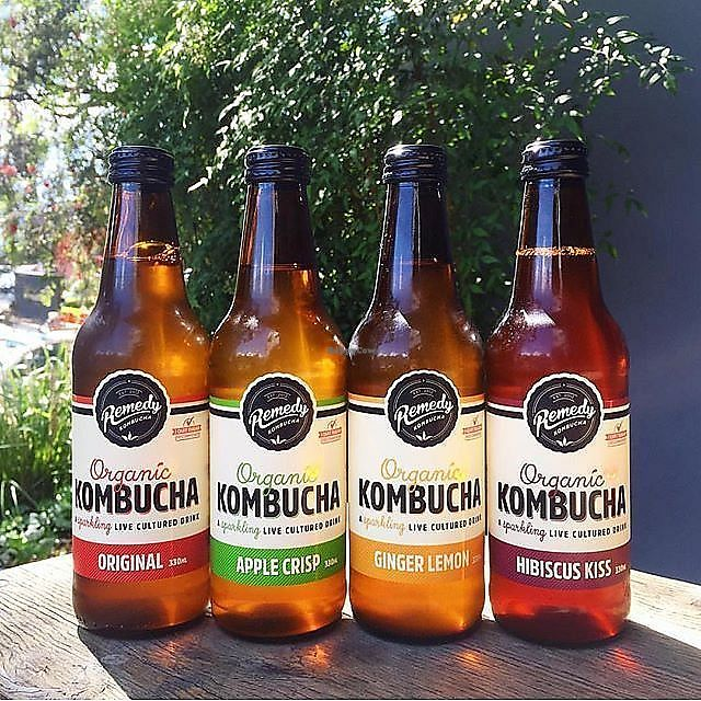 """Photo of Replenish  by <a href=""""/members/profile/jveg"""">jveg</a> <br/>heaps of kombucha options - on tap or in the bottle - my tummy is loving it  <br/> January 25, 2018  - <a href='/contact/abuse/image/6093/350873'>Report</a>"""