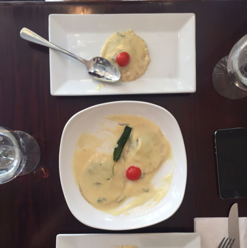 """Photo of Blossom Restaurant  by <a href=""""/members/profile/redsox"""">redsox</a> <br/>Cashew Cream Ravioli <br/> August 12, 2016  - <a href='/contact/abuse/image/6097/167899'>Report</a>"""