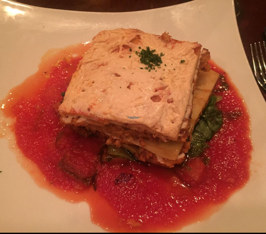 """Photo of Blossom Restaurant  by <a href=""""/members/profile/GMUGrad2002"""">GMUGrad2002</a> <br/>Lasagna  <br/> December 28, 2016  - <a href='/contact/abuse/image/6097/205479'>Report</a>"""