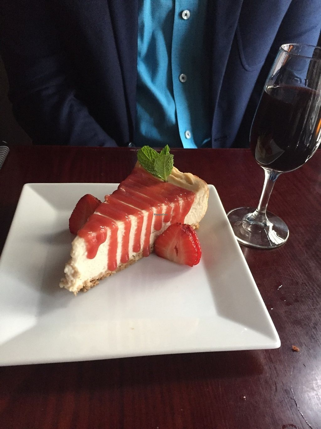 """Photo of Blossom Restaurant  by <a href=""""/members/profile/KaitlynnGill"""">KaitlynnGill</a> <br/>Strawberry cheesecake  <br/> May 1, 2017  - <a href='/contact/abuse/image/6097/254764'>Report</a>"""