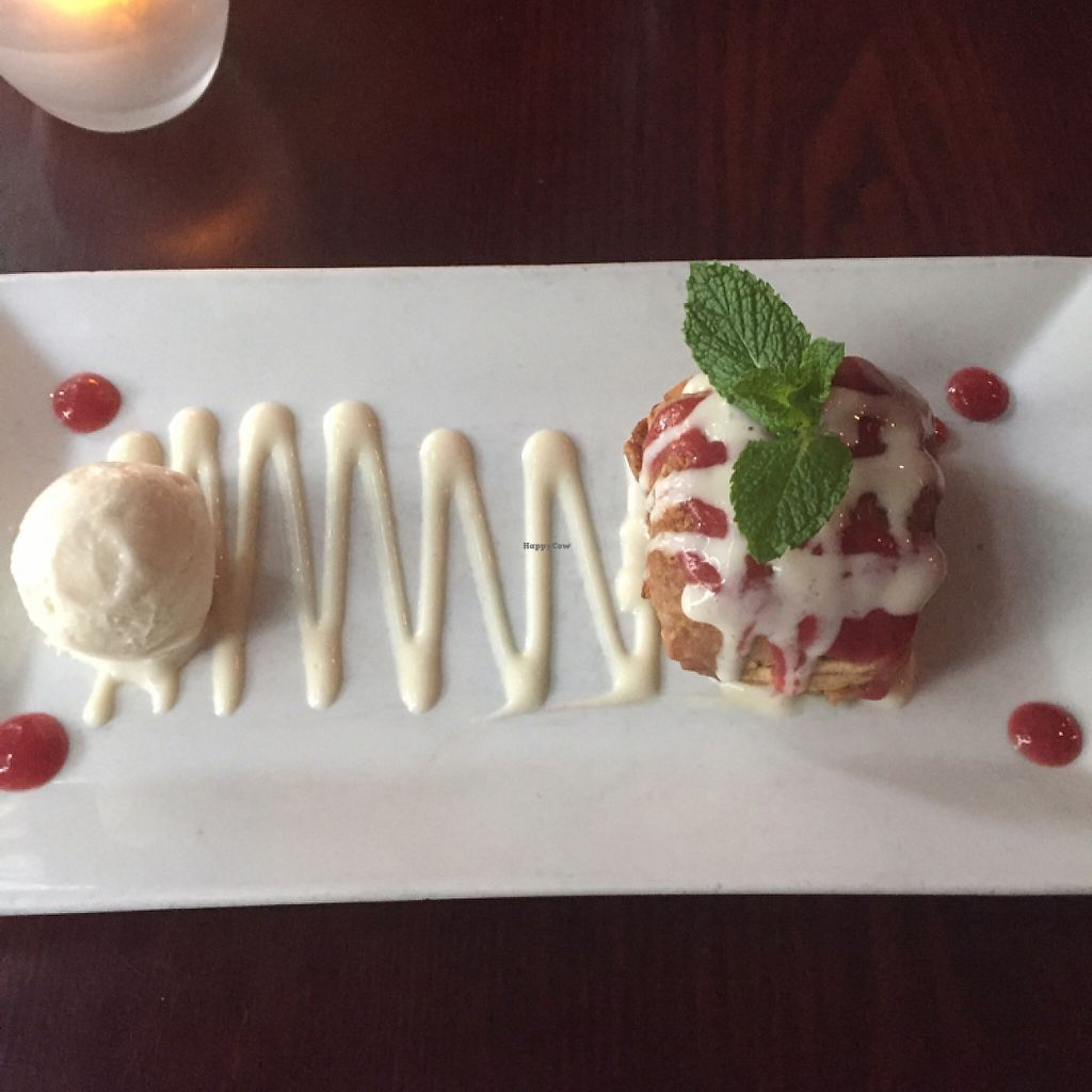 """Photo of Blossom Restaurant  by <a href=""""/members/profile/hhawn"""">hhawn</a> <br/>Apple crumble  <br/> May 23, 2017  - <a href='/contact/abuse/image/6097/261574'>Report</a>"""