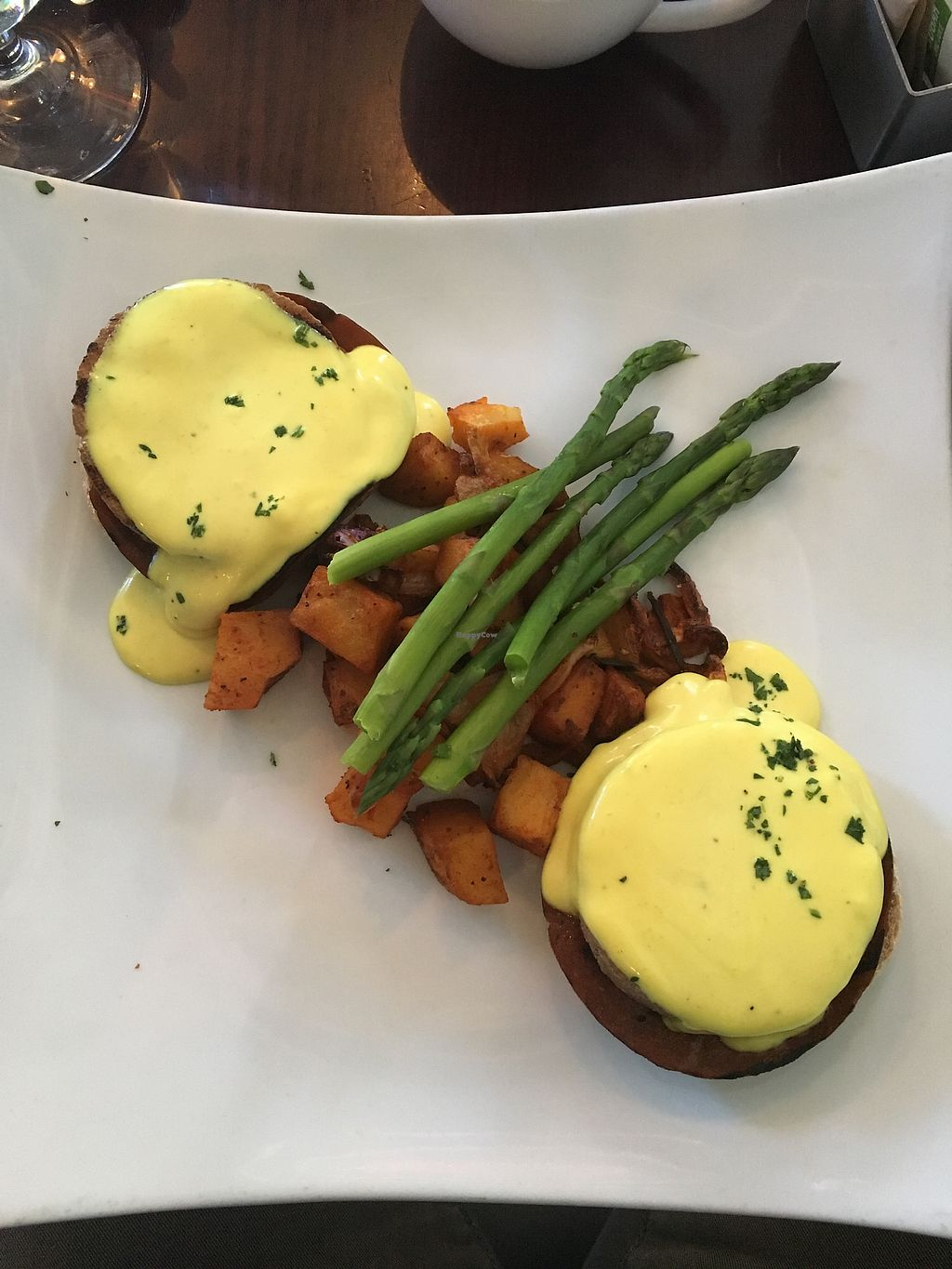 """Photo of Blossom Restaurant  by <a href=""""/members/profile/770veg"""">770veg</a> <br/>blossom Benedict  <br/> November 17, 2017  - <a href='/contact/abuse/image/6097/326507'>Report</a>"""