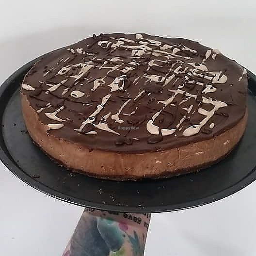 """Photo of MOA Bakery Cakery  by <a href=""""/members/profile/JaneThompson"""">JaneThompson</a> <br/>Custom order raw cheesecake <br/> July 28, 2017  - <a href='/contact/abuse/image/60988/285950'>Report</a>"""