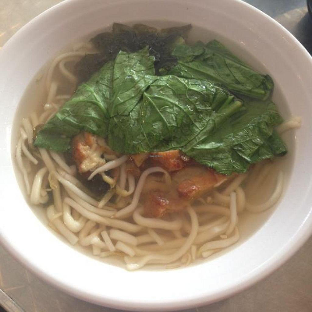 """Photo of Nature's Recipe Cafe  by <a href=""""/members/profile/AndyT"""">AndyT</a> <br/>Udon seaweed noodle soup <br/> July 12, 2014  - <a href='/contact/abuse/image/6099/73814'>Report</a>"""