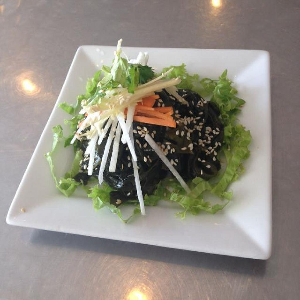 """Photo of Nature's Recipe Cafe  by <a href=""""/members/profile/AndyT"""">AndyT</a> <br/>Seaweed salad <br/> July 12, 2014  - <a href='/contact/abuse/image/6099/73815'>Report</a>"""