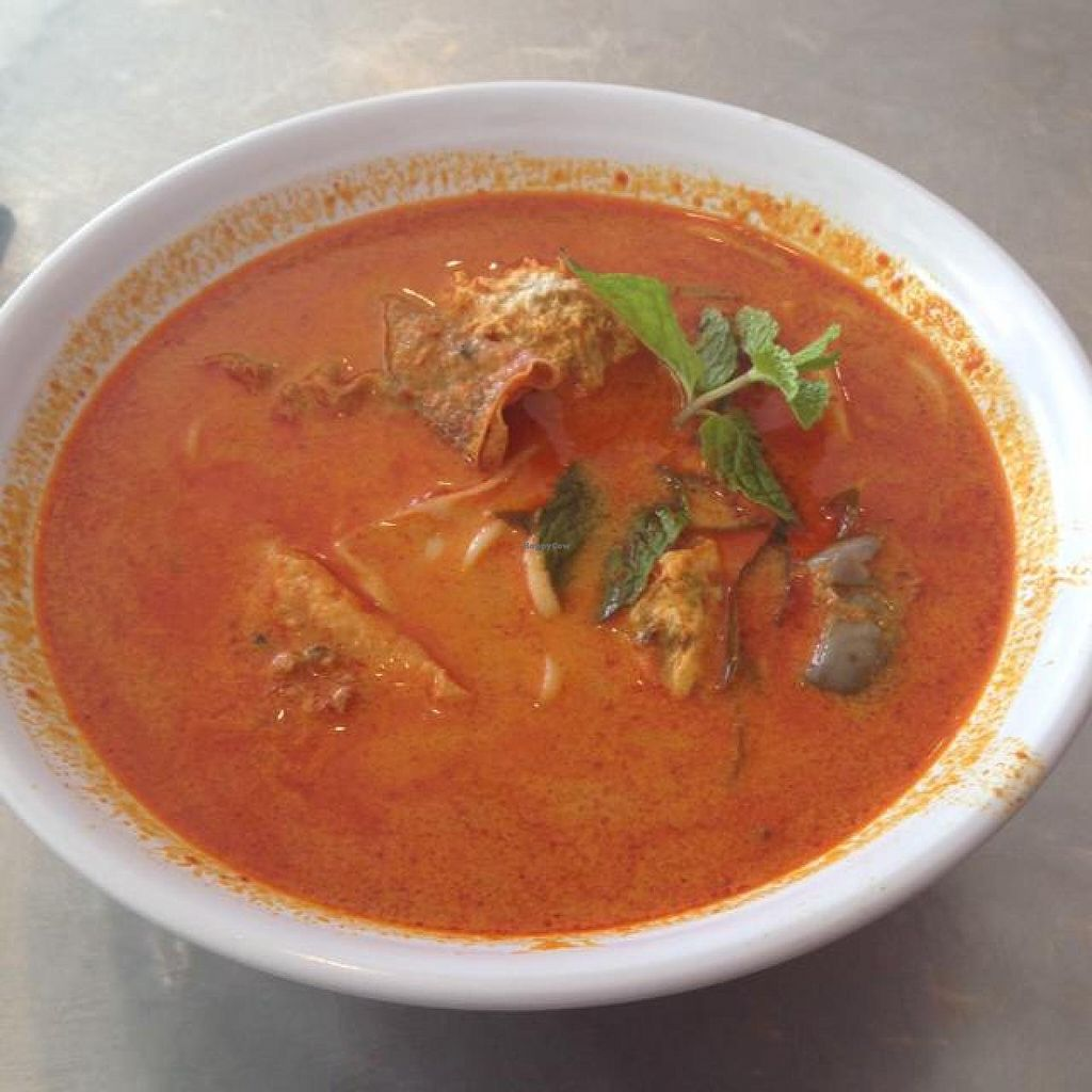 """Photo of Nature's Recipe Cafe  by <a href=""""/members/profile/AndyT"""">AndyT</a> <br/>Curry Laksa <br/> July 12, 2014  - <a href='/contact/abuse/image/6099/73818'>Report</a>"""