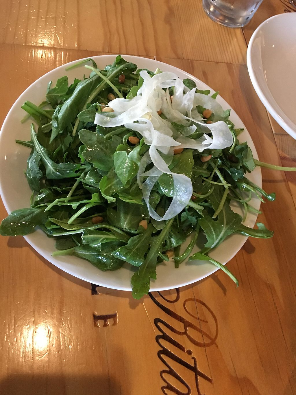 "Photo of Humble Wine Bar  by <a href=""/members/profile/veganrosebud"">veganrosebud</a> <br/>Arugula salad, hold the cheese! <br/> July 18, 2017  - <a href='/contact/abuse/image/61032/281651'>Report</a>"