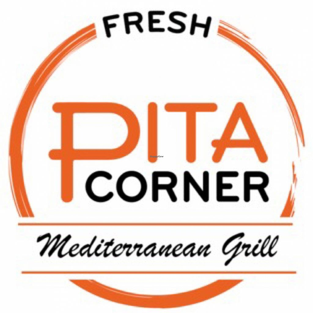 """Photo of Pita Corner  by <a href=""""/members/profile/veganadvocate"""">veganadvocate</a> <br/>Chain Logo <br/> March 17, 2016  - <a href='/contact/abuse/image/61052/140258'>Report</a>"""