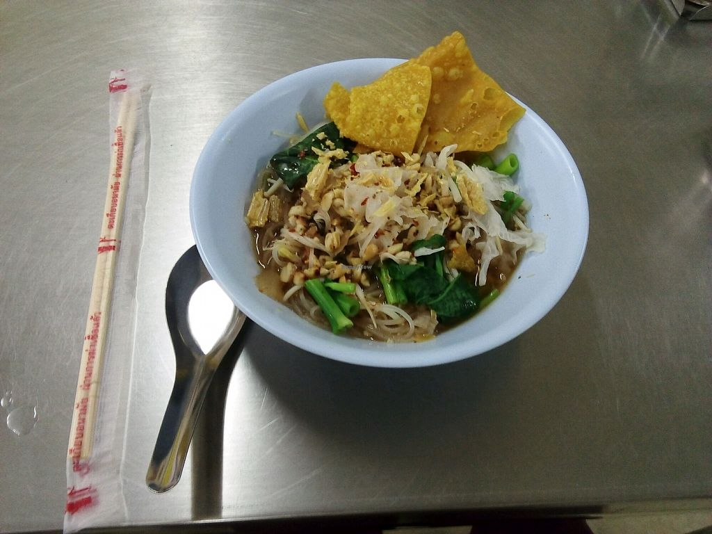 """Photo of Yee-chai  by <a href=""""/members/profile/Tofulicious"""">Tofulicious</a> <br/>the smallest 'soup' I've ever seen (with no tofu) <br/> February 23, 2018  - <a href='/contact/abuse/image/61056/362816'>Report</a>"""
