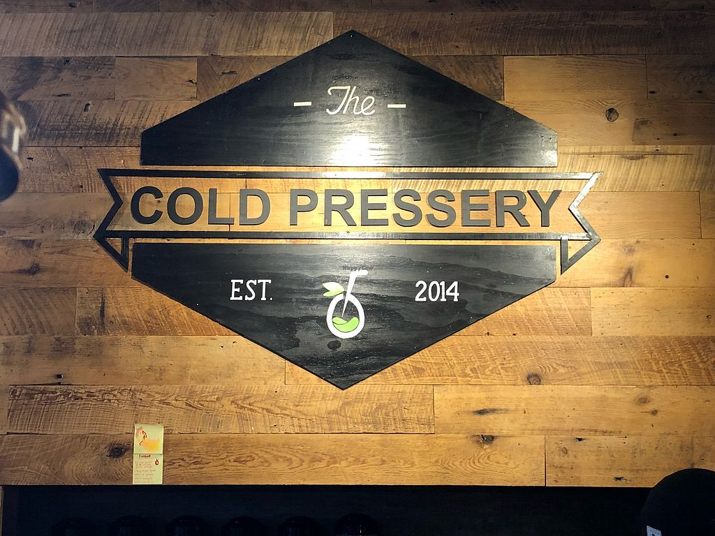 """Photo of The Cold Pressery  by <a href=""""/members/profile/Veggie%20J"""">Veggie J</a> <br/>Cafe <br/> November 27, 2017  - <a href='/contact/abuse/image/61073/329669'>Report</a>"""