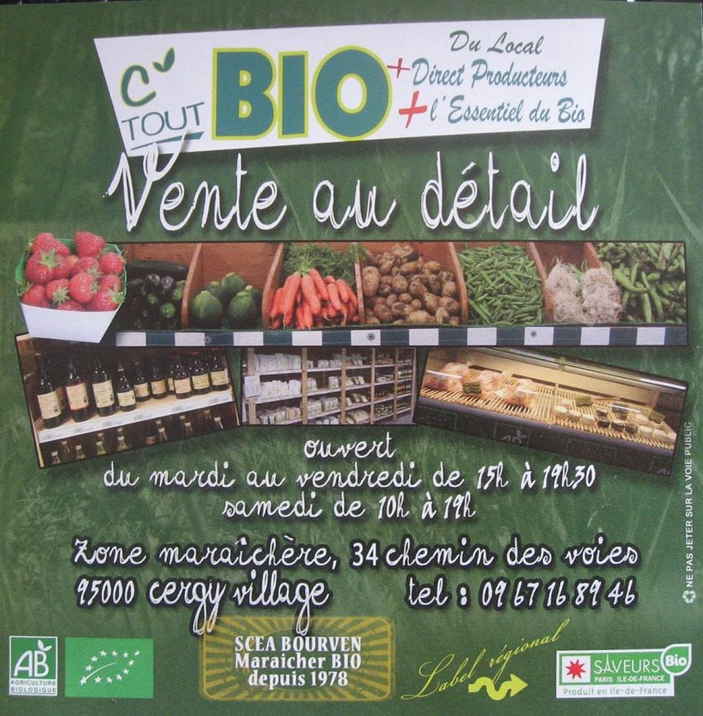 "Photo of C' Tout Bio  by <a href=""/members/profile/community"">community</a> <br/>C' Tout Bio <br/> July 24, 2015  - <a href='/contact/abuse/image/61075/110778'>Report</a>"