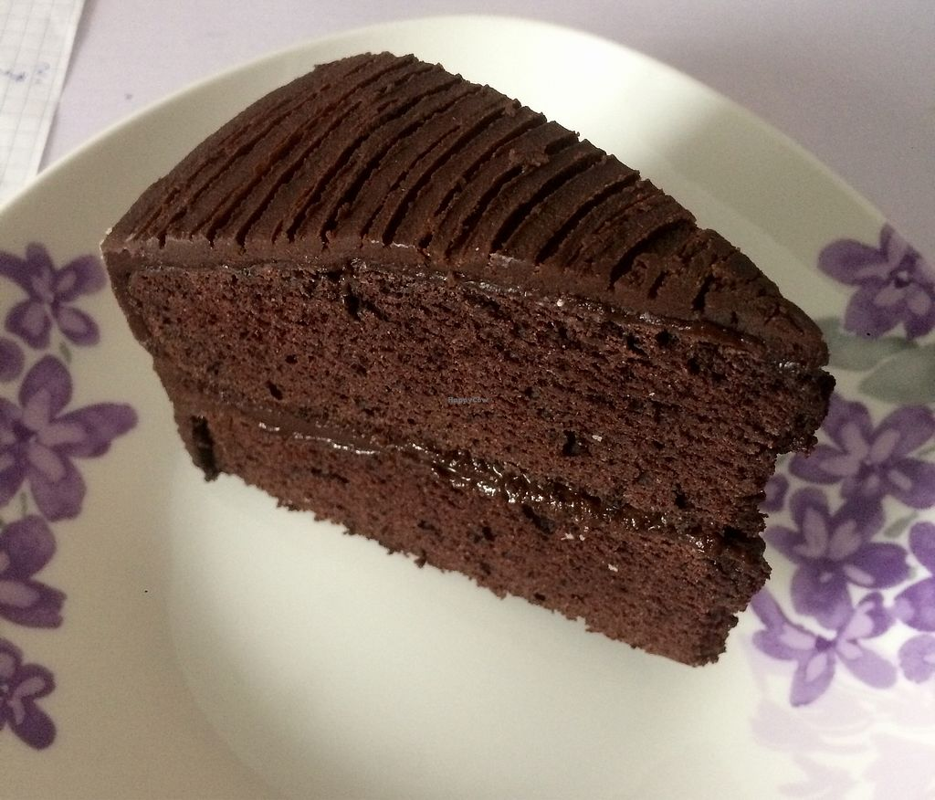 """Photo of Happy Buddha  by <a href=""""/members/profile/thevegscram"""">thevegscram</a> <br/>Chocolate Cake  <br/> December 28, 2017  - <a href='/contact/abuse/image/61106/340011'>Report</a>"""