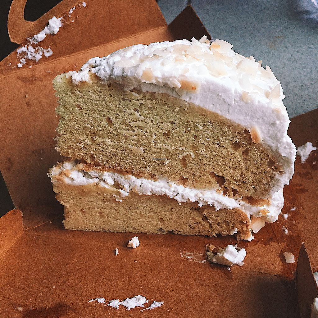 """Photo of Happy Buddha  by <a href=""""/members/profile/sophienthorpe"""">sophienthorpe</a> <br/>Coconut and rum cake <br/> March 19, 2018  - <a href='/contact/abuse/image/61106/372691'>Report</a>"""