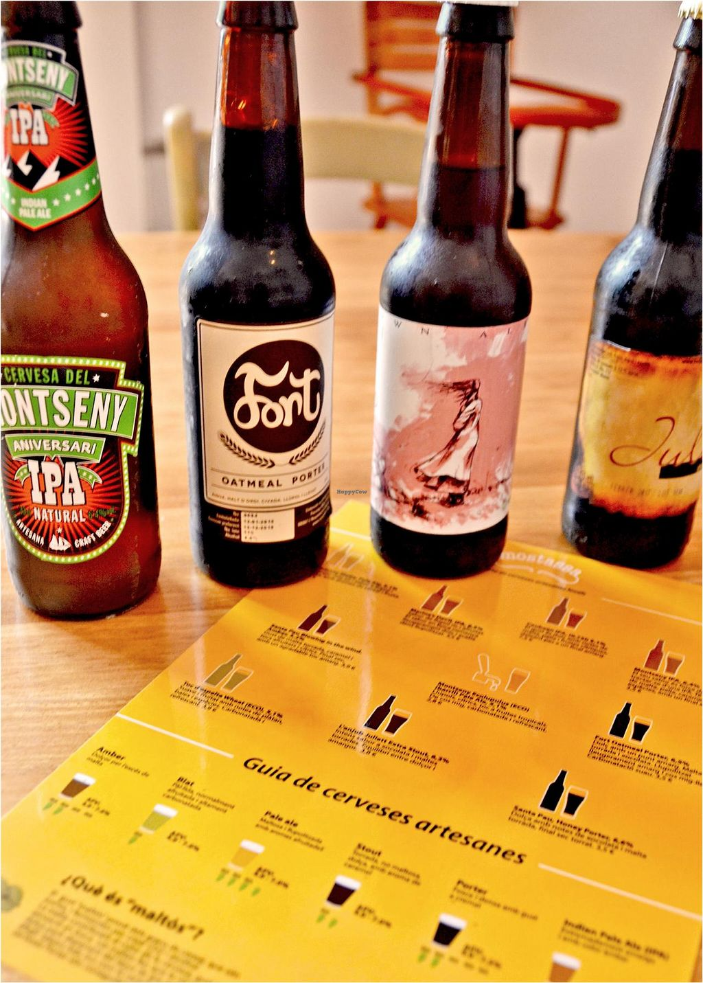 "Photo of Mostassa  by <a href=""/members/profile/Veggiemoi"">Veggiemoi</a> <br/>Love Mostassa´s local craft beer guide.  <br/> July 26, 2015  - <a href='/contact/abuse/image/61112/111011'>Report</a>"