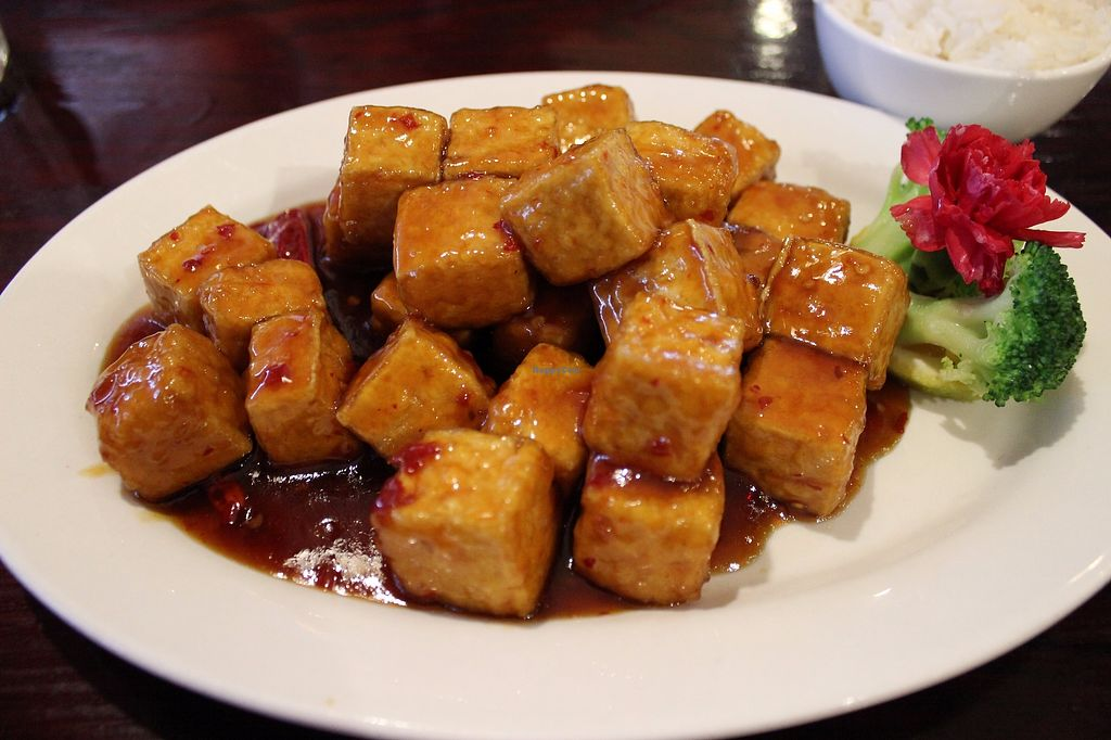 "Photo of Cheng's Garden  by <a href=""/members/profile/veggie_htx"">veggie_htx</a> <br/>General Tso's tofu <br/> September 18, 2017  - <a href='/contact/abuse/image/61117/305569'>Report</a>"