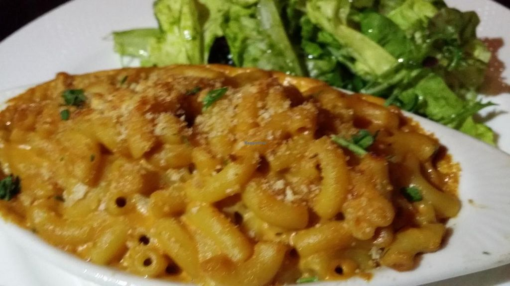 """Photo of Pettirosso  by <a href=""""/members/profile/The%20Hungry%20Vegan"""">The Hungry Vegan</a> <br/>Shawn's Vegan Mac and Cheese <br/> July 25, 2015  - <a href='/contact/abuse/image/61119/110935'>Report</a>"""