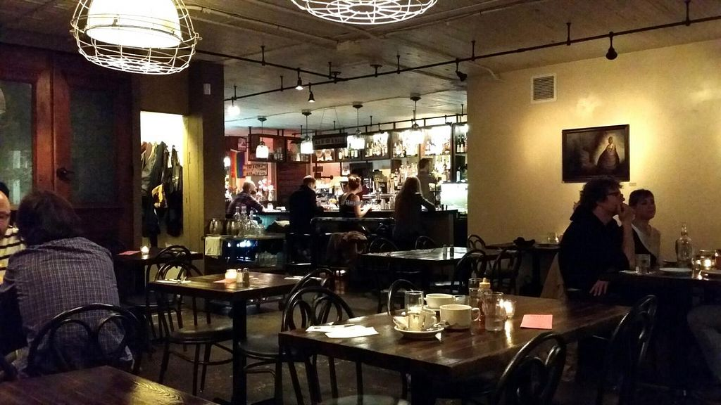 """Photo of Pettirosso  by <a href=""""/members/profile/The%20Hungry%20Vegan"""">The Hungry Vegan</a> <br/>dining room and bar <br/> July 25, 2015  - <a href='/contact/abuse/image/61119/110937'>Report</a>"""