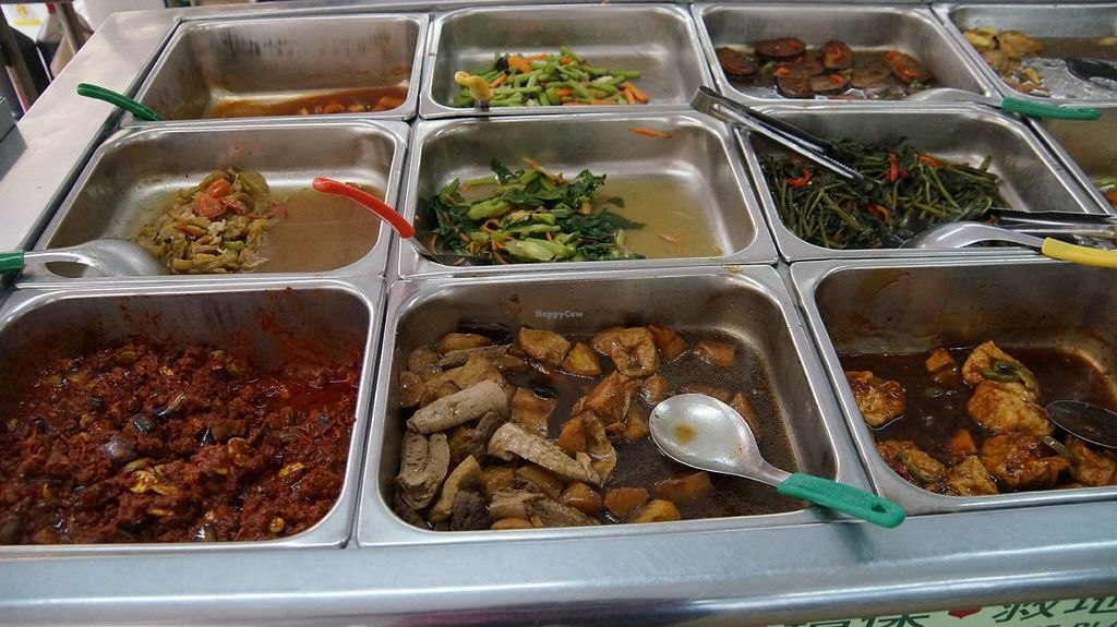 """Photo of Blue Boy Vegetarian Food Centre Stall  by <a href=""""/members/profile/nbhat"""">nbhat</a> <br/>Lunch Buffet <br/> October 11, 2015  - <a href='/contact/abuse/image/6111/121048'>Report</a>"""