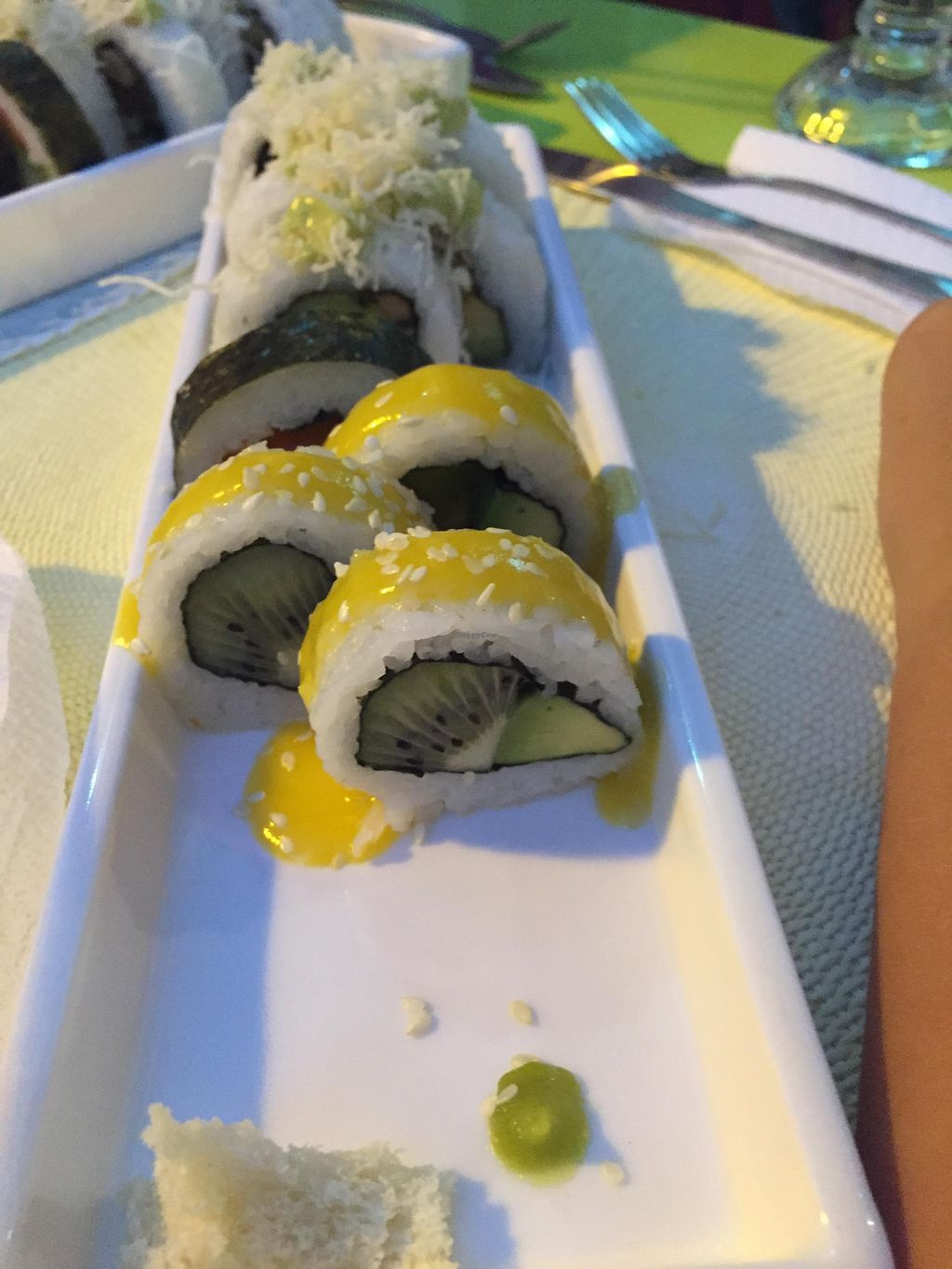"""Photo of CLOSED: Didi Cafe  by <a href=""""/members/profile/wooly"""">wooly</a> <br/>This is the delicious 'sushi' <br/> August 6, 2015  - <a href='/contact/abuse/image/61120/112533'>Report</a>"""