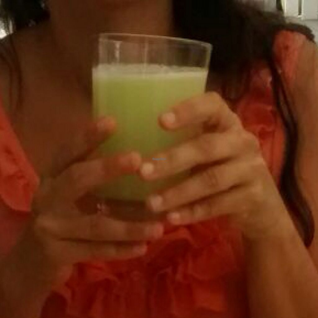 """Photo of CLOSED: Didi Cafe  by <a href=""""/members/profile/leticinarg"""">leticinarg</a> <br/>sangría free alcohol. made with cucumber, ginger and Lemon! <br/> August 29, 2015  - <a href='/contact/abuse/image/61120/115654'>Report</a>"""