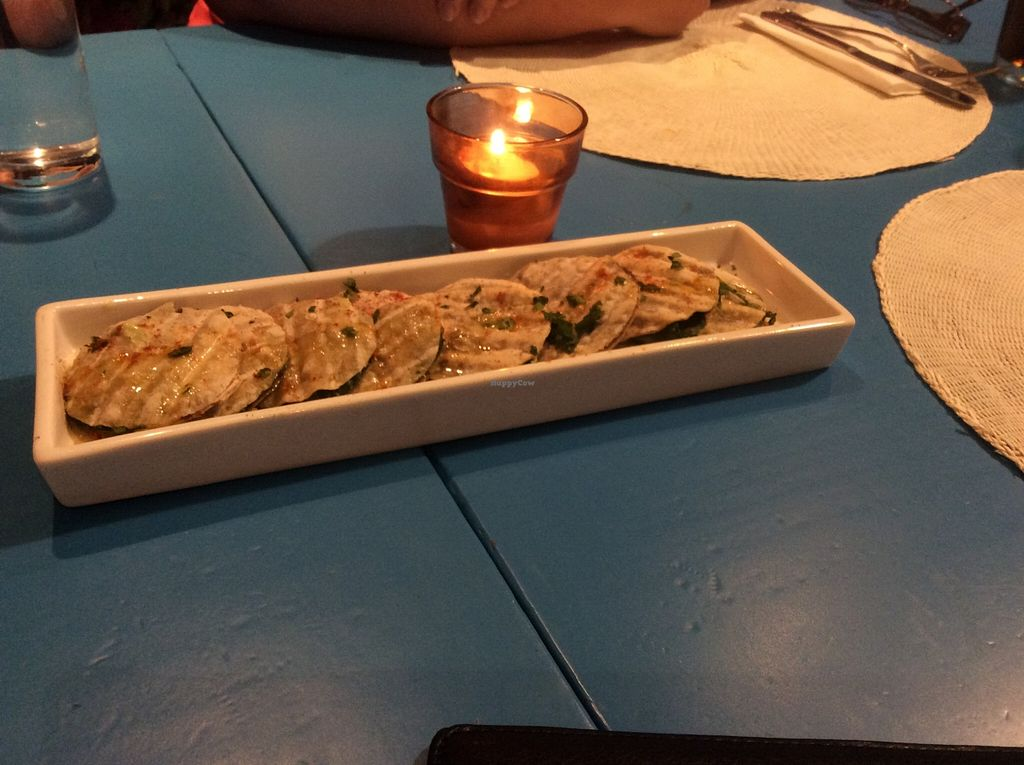 """Photo of CLOSED: Didi Cafe  by <a href=""""/members/profile/AndreaD"""">AndreaD</a> <br/>An amazing vegan appetiser, offered by DIDI Cafe <br/> November 12, 2015  - <a href='/contact/abuse/image/61120/124707'>Report</a>"""
