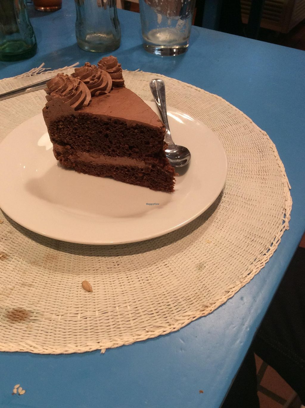 """Photo of CLOSED: Didi Cafe  by <a href=""""/members/profile/AndreaD"""">AndreaD</a> <br/>Vegan chocolate gateaux. Perfection on a plate <br/> November 12, 2015  - <a href='/contact/abuse/image/61120/124709'>Report</a>"""
