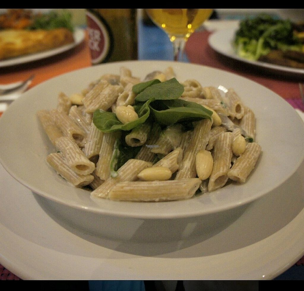 """Photo of CLOSED: Didi Cafe  by <a href=""""/members/profile/MajaTh%C3%B8tMortensen"""">MajaThøtMortensen</a> <br/>Pasta with almonds <br/> October 16, 2016  - <a href='/contact/abuse/image/61120/182465'>Report</a>"""